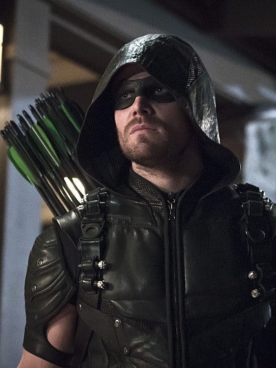 "Stephen Amell as ""Oliver Queen"" in 'Arrow'"