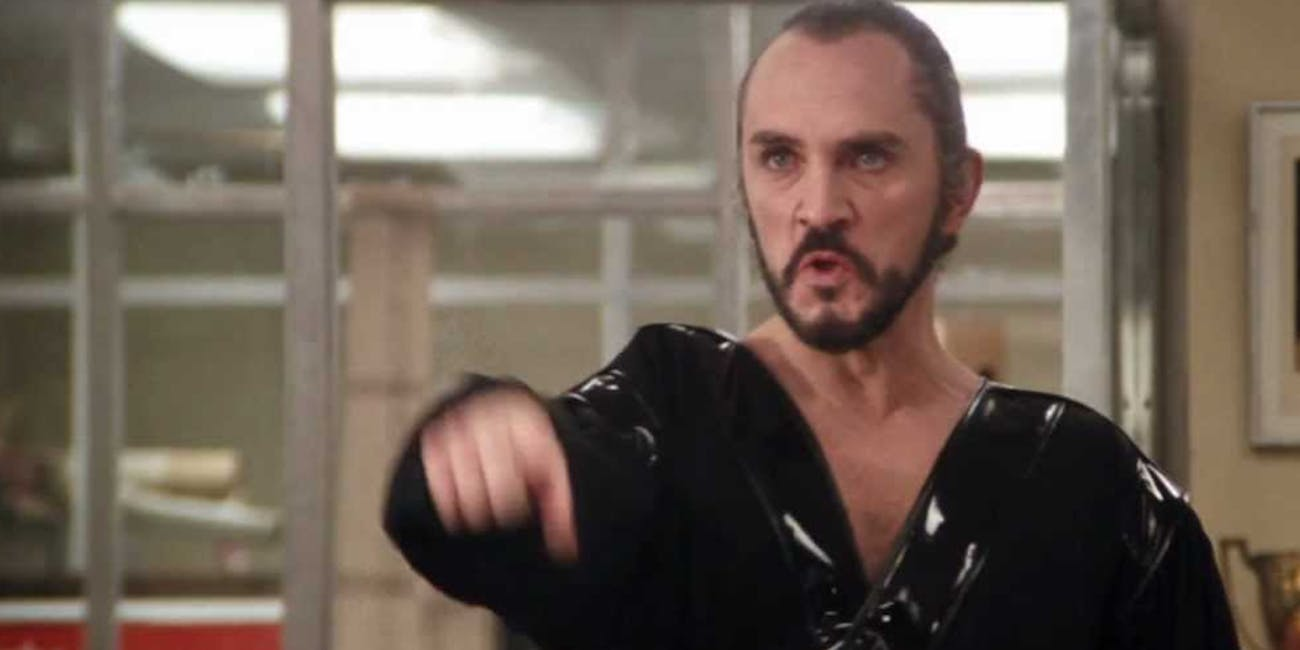 Terrence Stamp As General Zod In Superman II