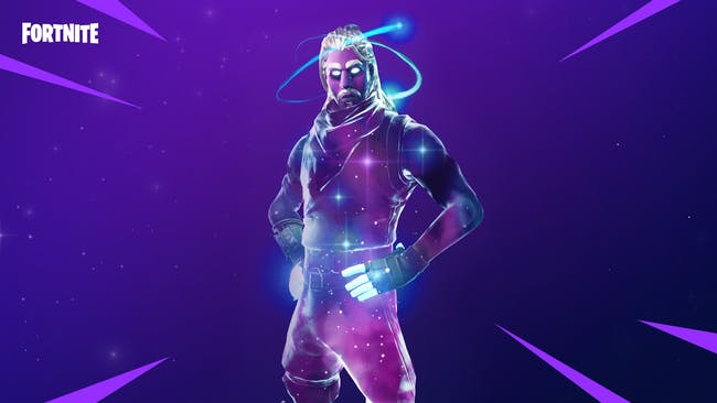 'Fortnite' Android Galaxy Skin