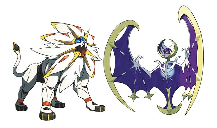 Pokemon legendary return in 2018 heres what it means inverse solgaleo left and lunala right are two of the newest legendary pokmon altavistaventures Choice Image