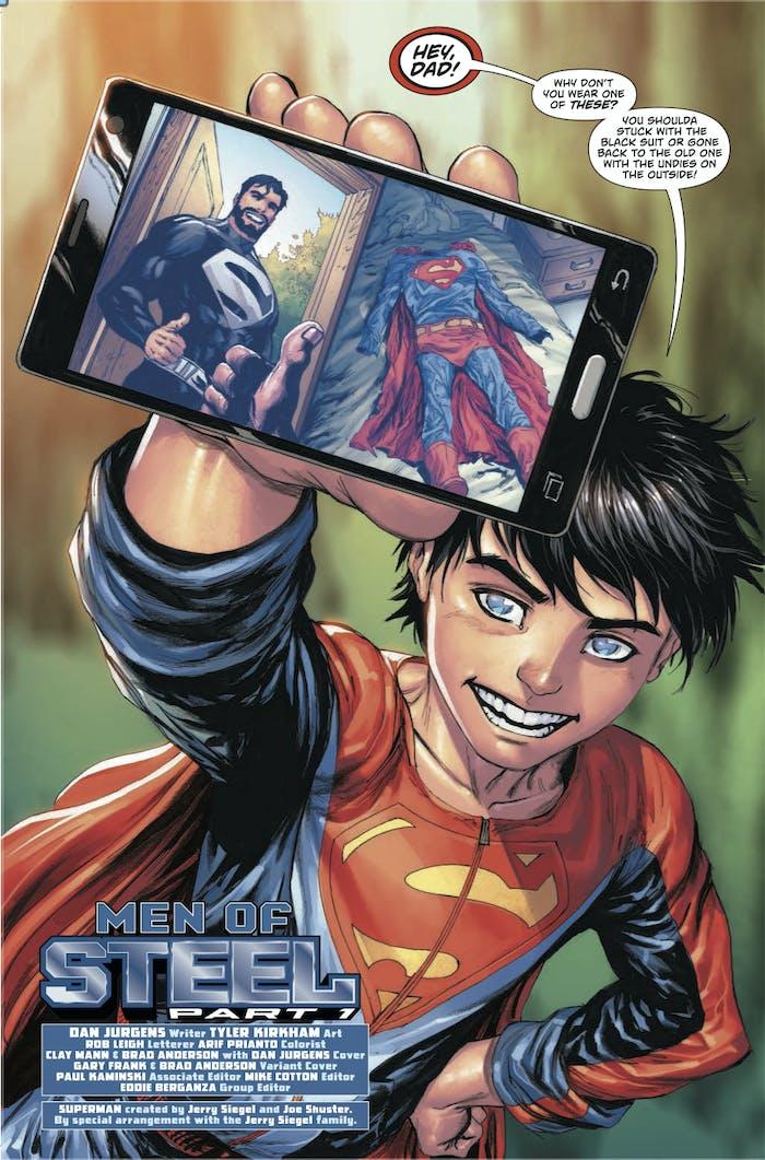 Superman Action Comics superboy