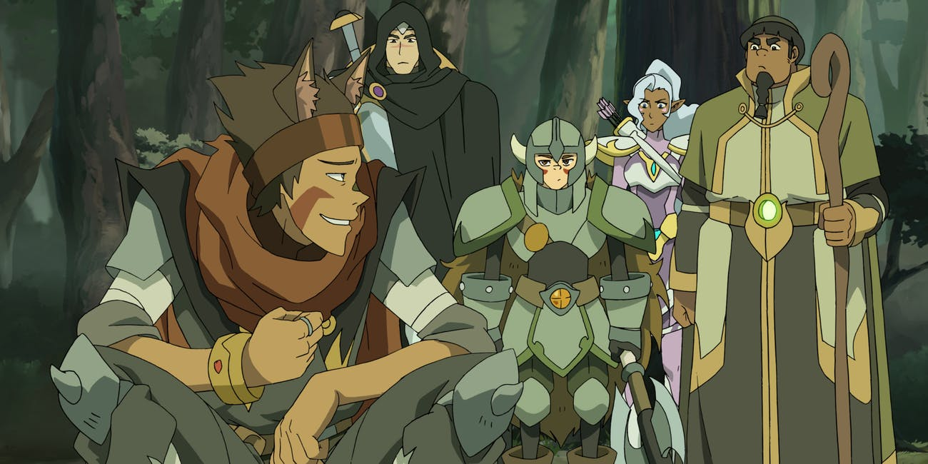 Voltron Monsters and Mana Netflix