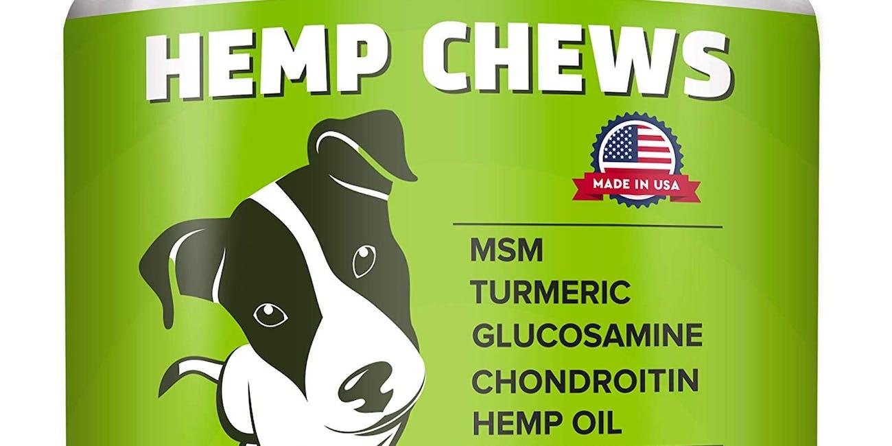 Pawfectchow Hemp + Glucosamine Treats for Dogs