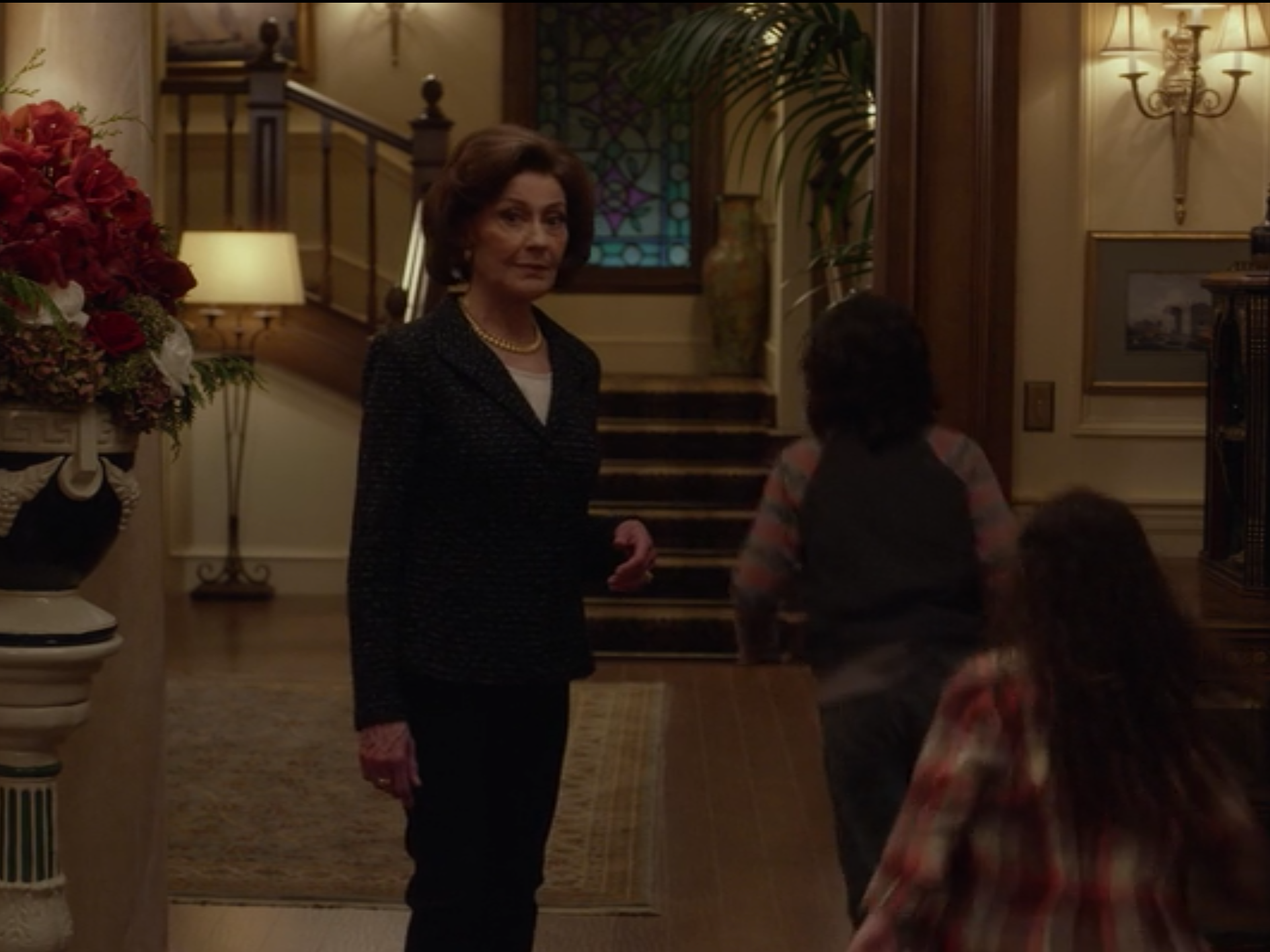 Emily welcomes her maid's family into her home, even though she doesn't know how to communicate with them.