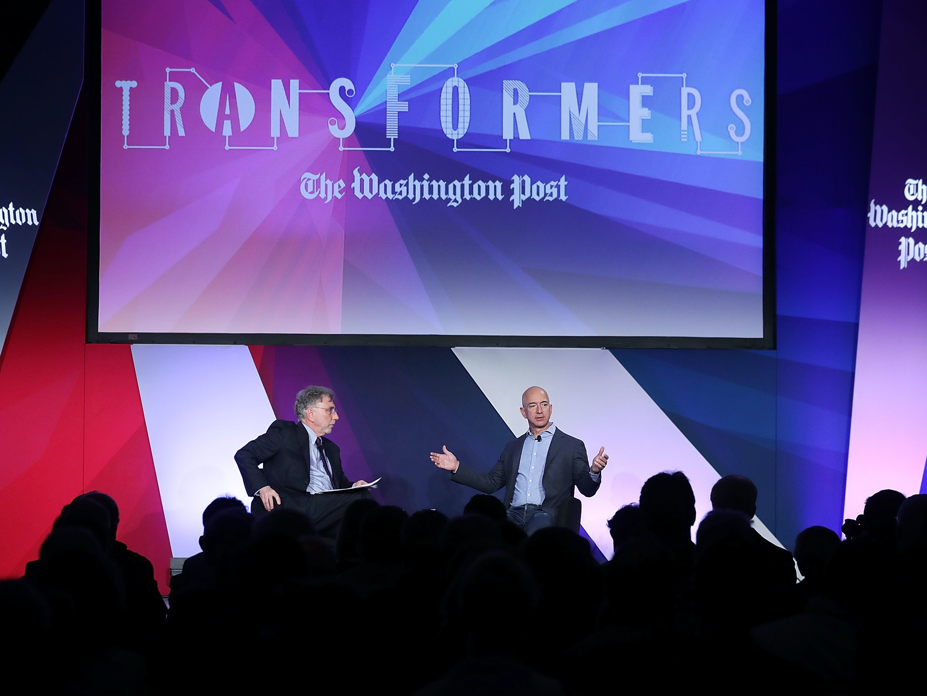 "Inside ""Transformers,"" Jeff Bezos's Attempt to Silicon-Valley Journalism"