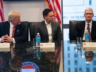 Tech CEOs Played Themselves by Associating With Trump