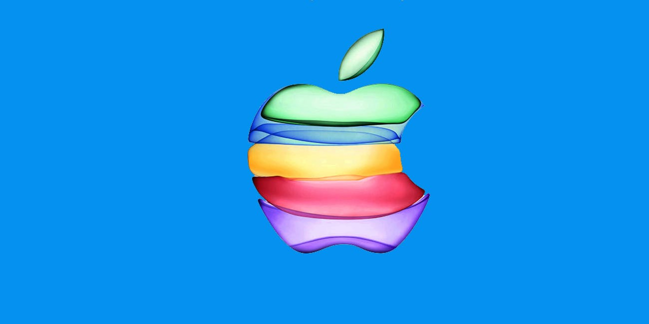 """Apple's logo as presented in its """"By Innovation Only"""" invitation for its event on September 10, 2016."""