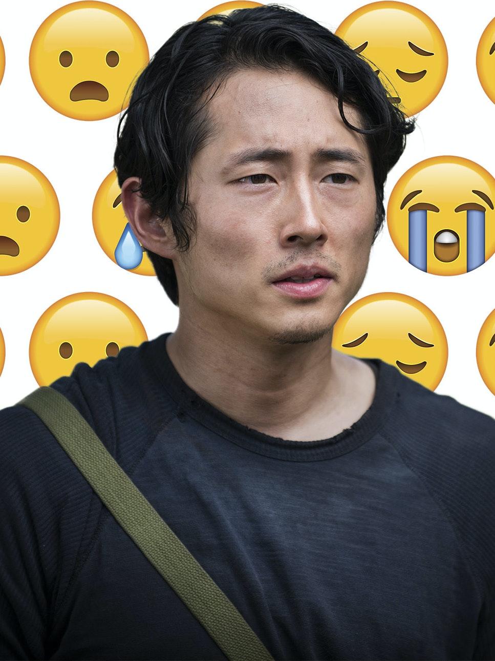 Glenn The Walking Dead Sad Death