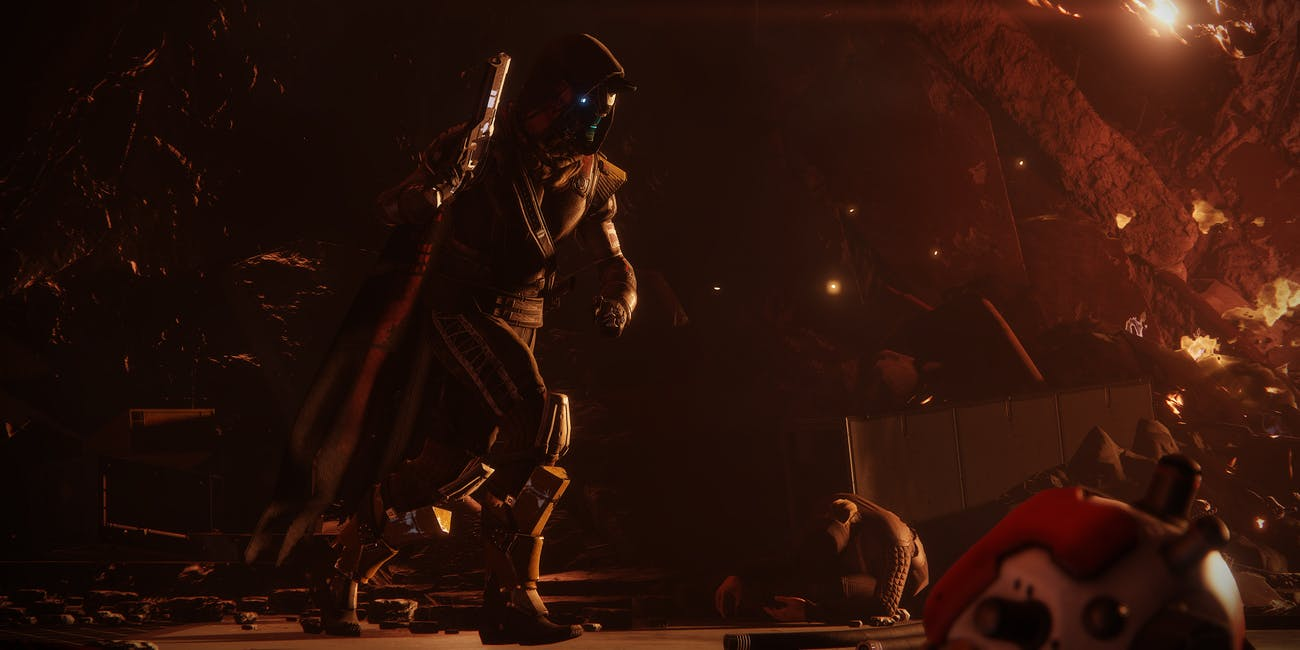 Destiny 2 Activision Bungie Blizzard Hunter Cayde-6