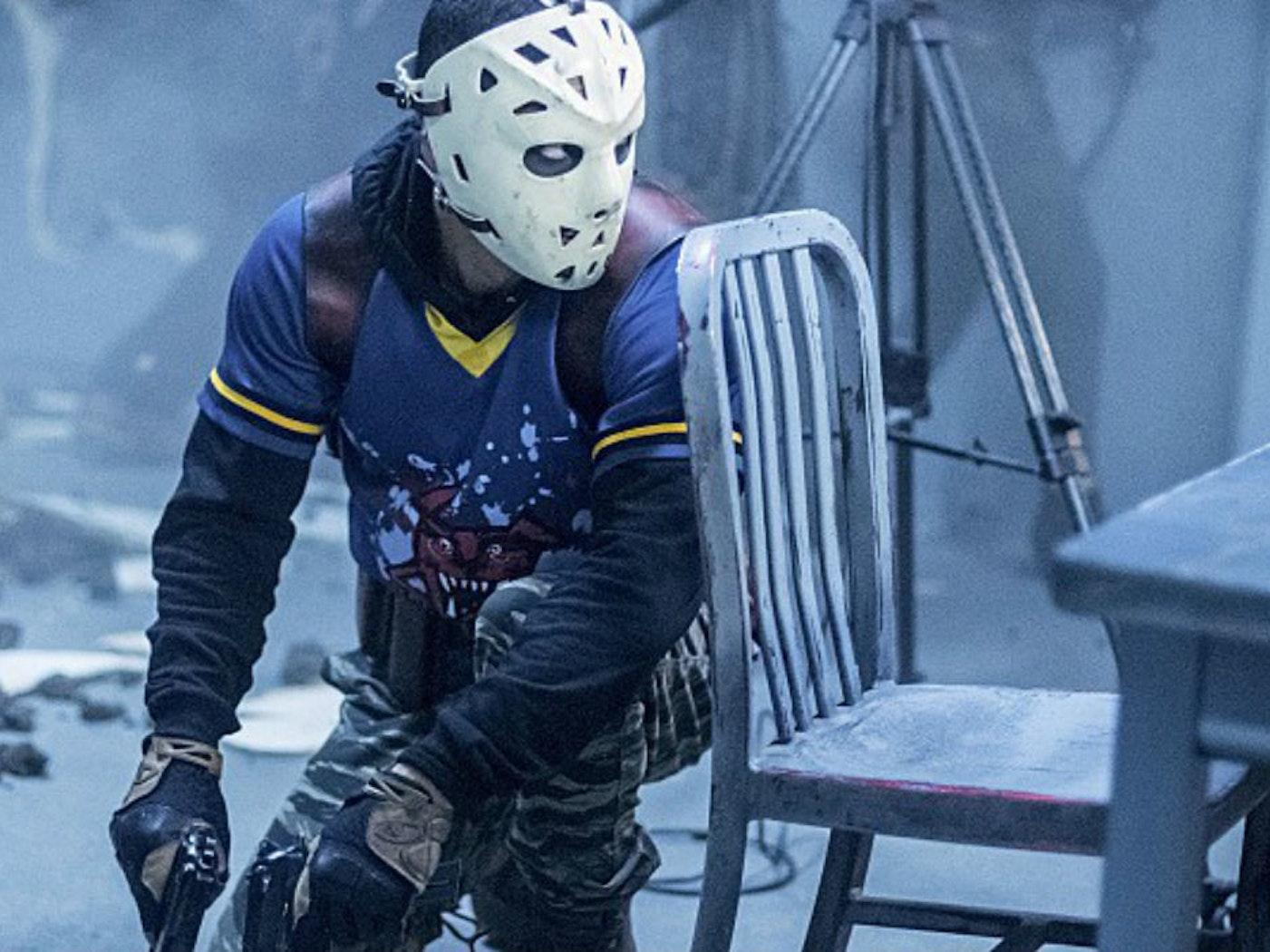 Rick Gonzalez as Wild Dog, aka Rene Ramirez, on 'Arrow'