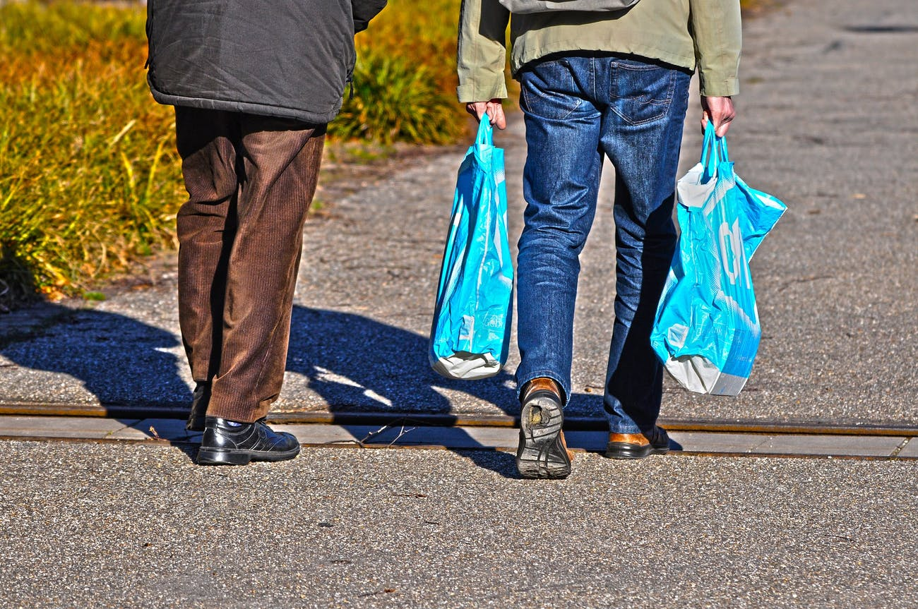 exercise carrying groceries