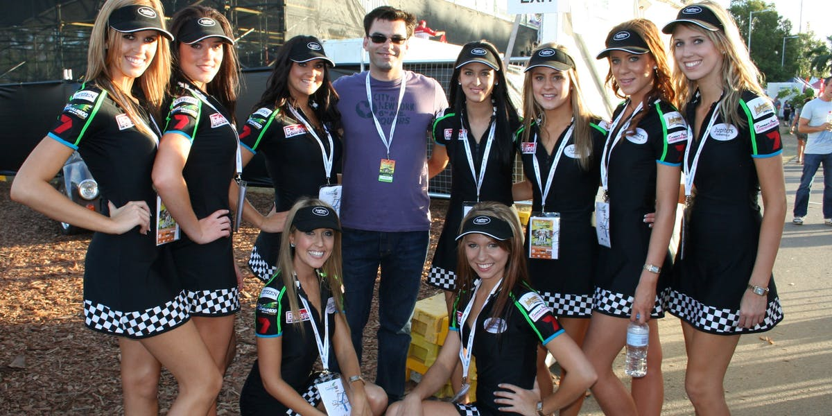 Townsville V8 Grid Girls