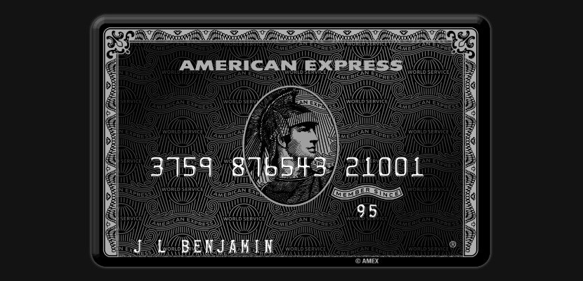 The Centurion Card