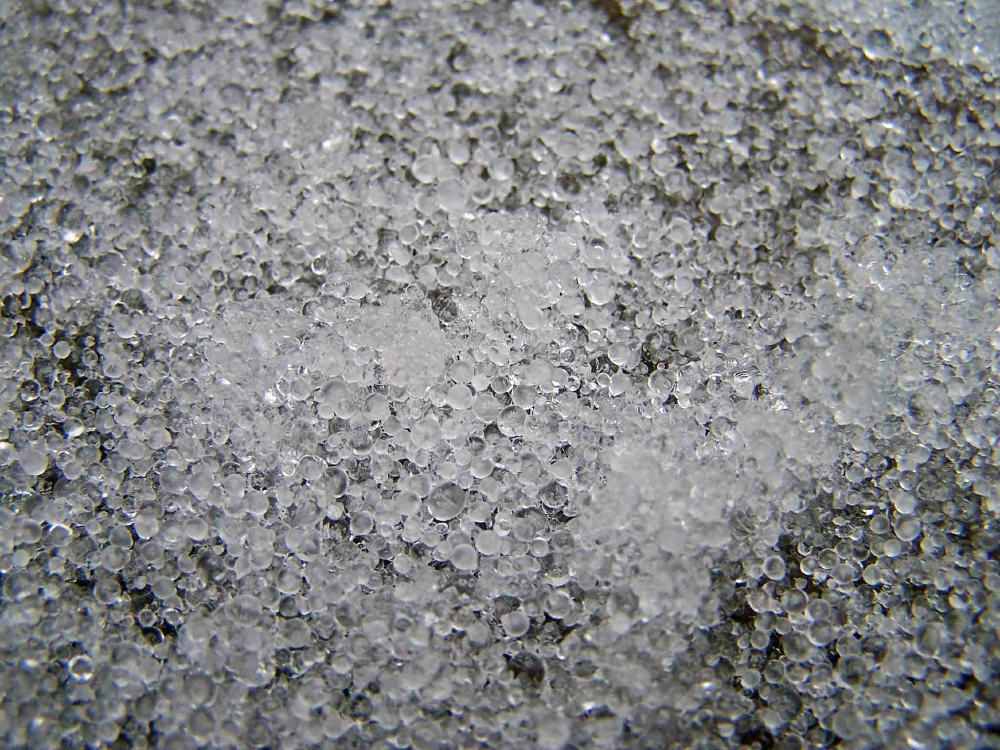 Americans call this sleet, but most everyone else call it ice pellets.