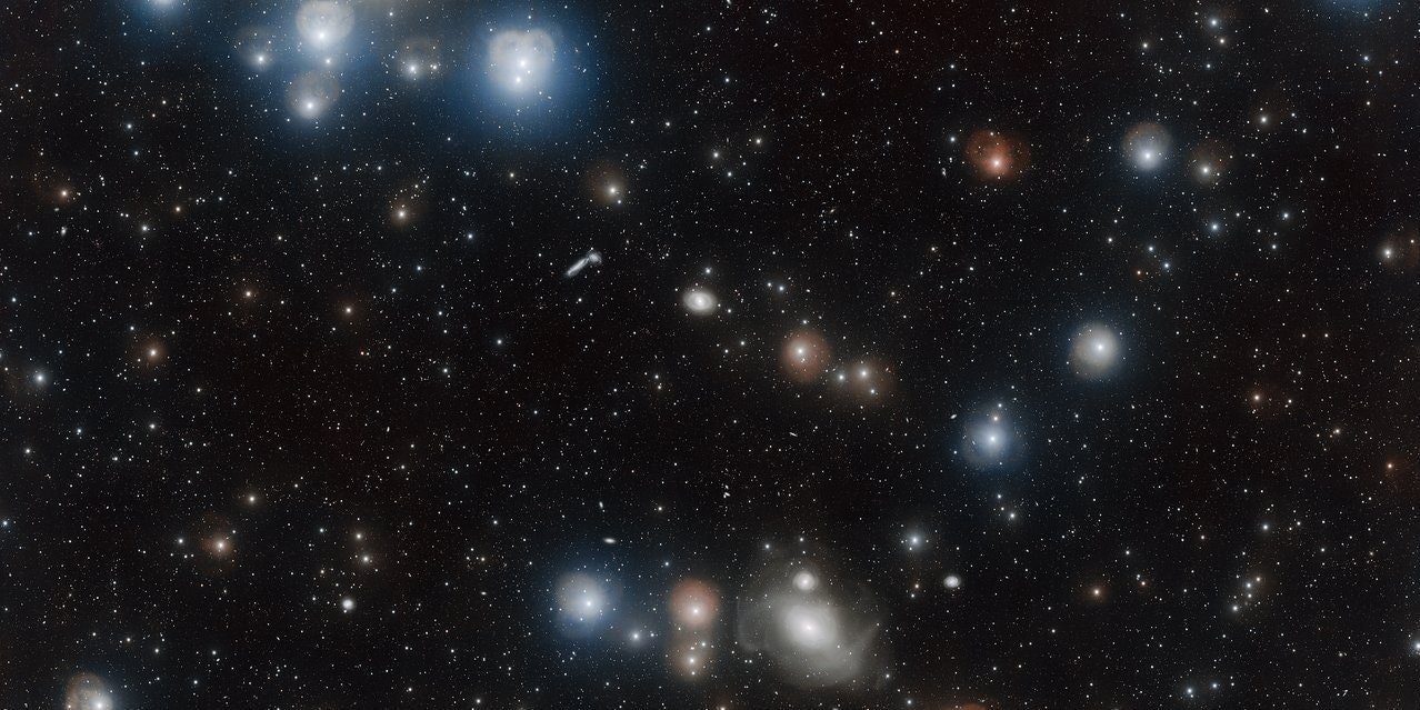 This Stunning New Image of the Fornax Cluster Will Make You Feel Small