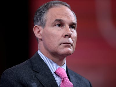 5 Reasons Why Scott Pruitt Makes the EPA's Career Scientists Nervous