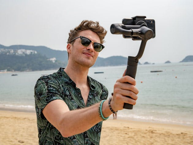 Stabilize Your Smartphone Videos With This Handy Gimbal