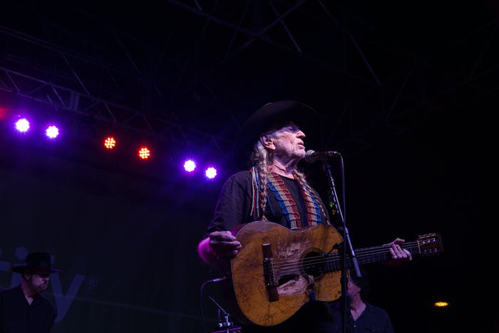 Willie Nelson SXSW Spotify
