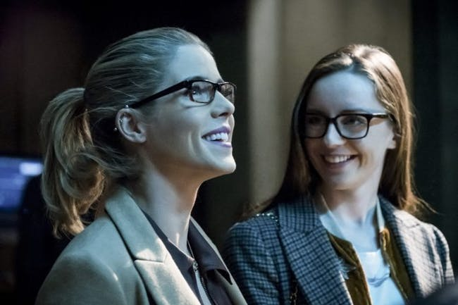 Laugh it up while you can, Felicity. Helix is about to claim your soul.