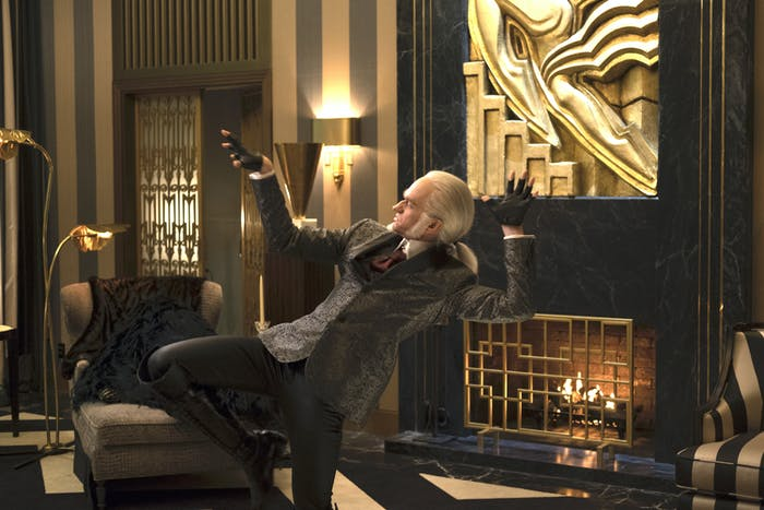 Neil Patrick Harris as Count Olaf, totally inspired by Karl Lagerfeld