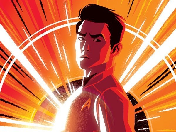 Sulu Narrowly Escapes the Borg in 'Star Trek: Boldly Go'