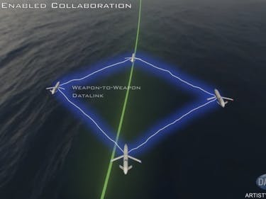 DARPA Develops Drone Intelligence That Will Enable Them to Travel in Flocks