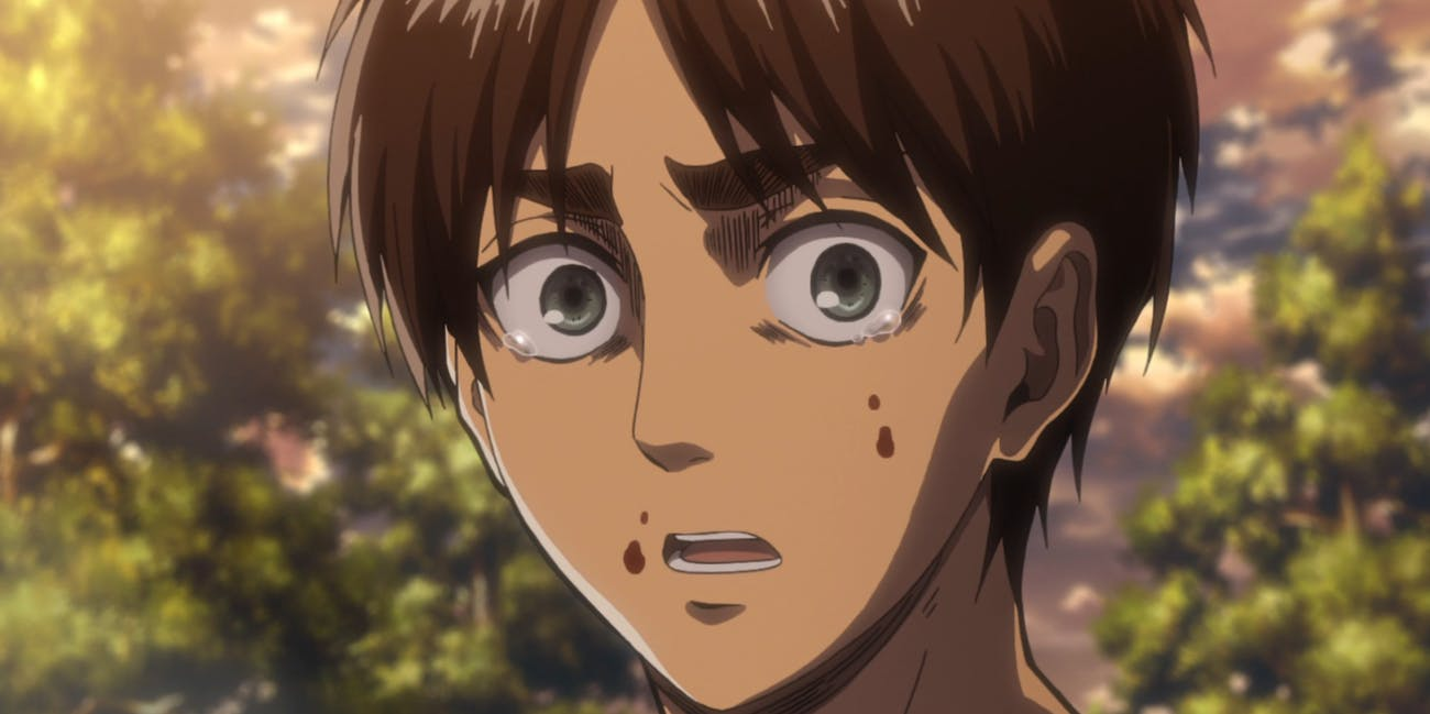 Eren is the protagonist of 'Attack on Titan' but he consistently struggles to be a hero.