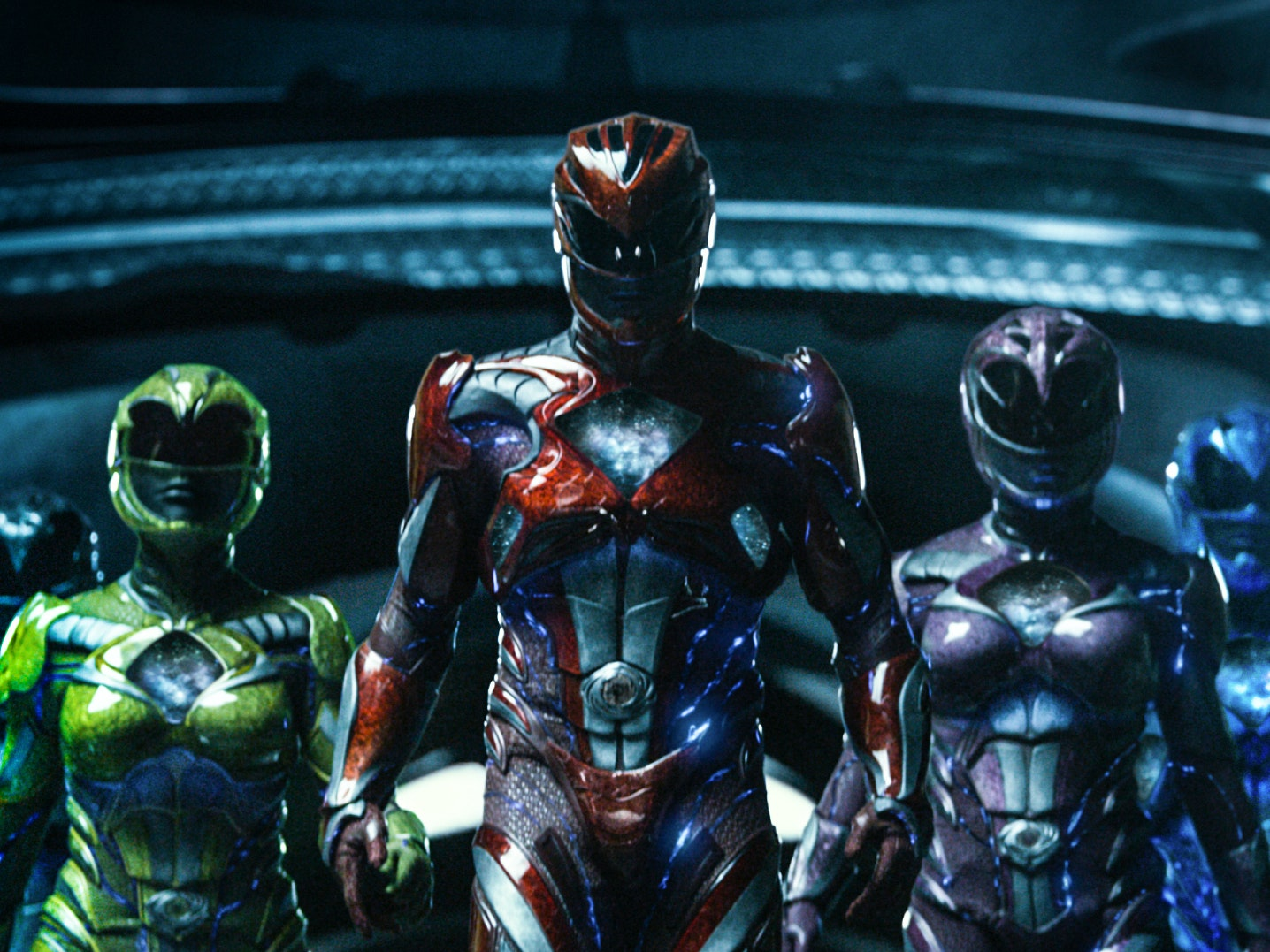 'Power Rangers' Reboot's Metallic Costumes Go Way Back on TV
