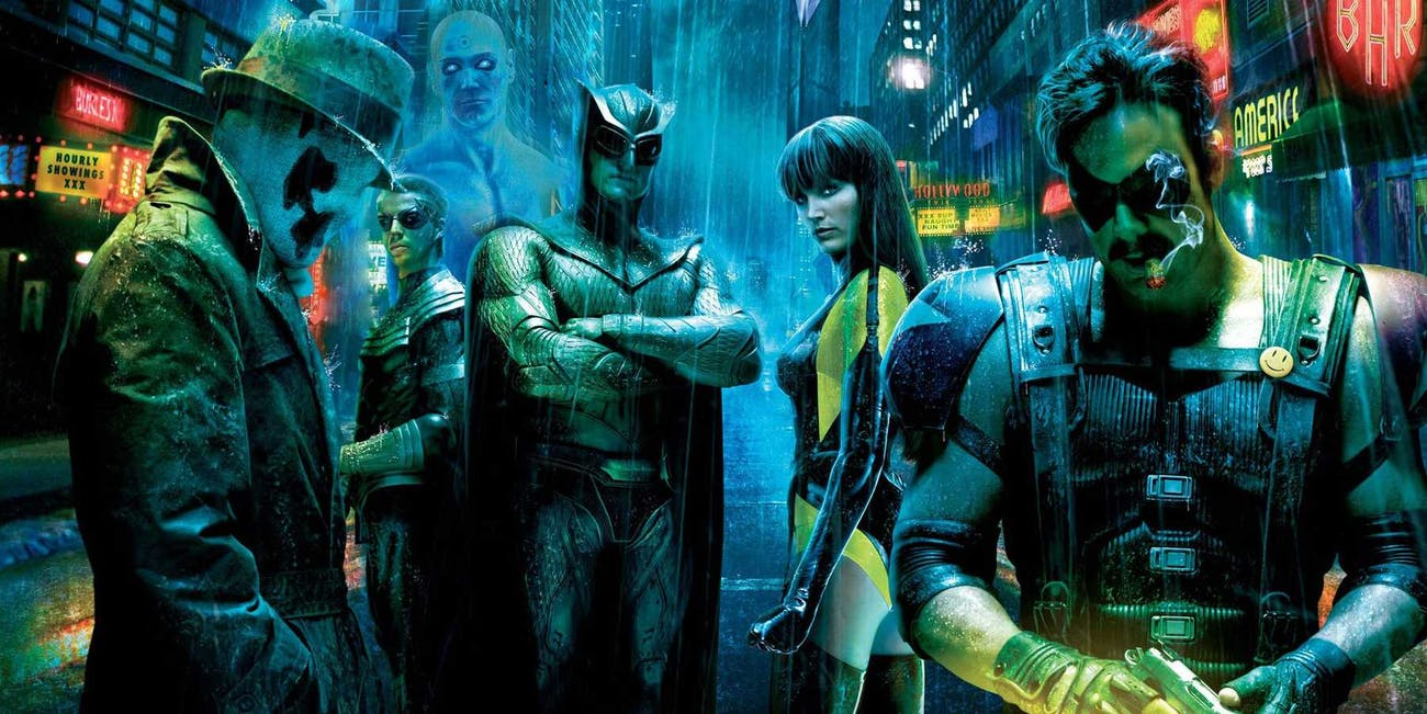 crisis on infinite earths watchmen crossover