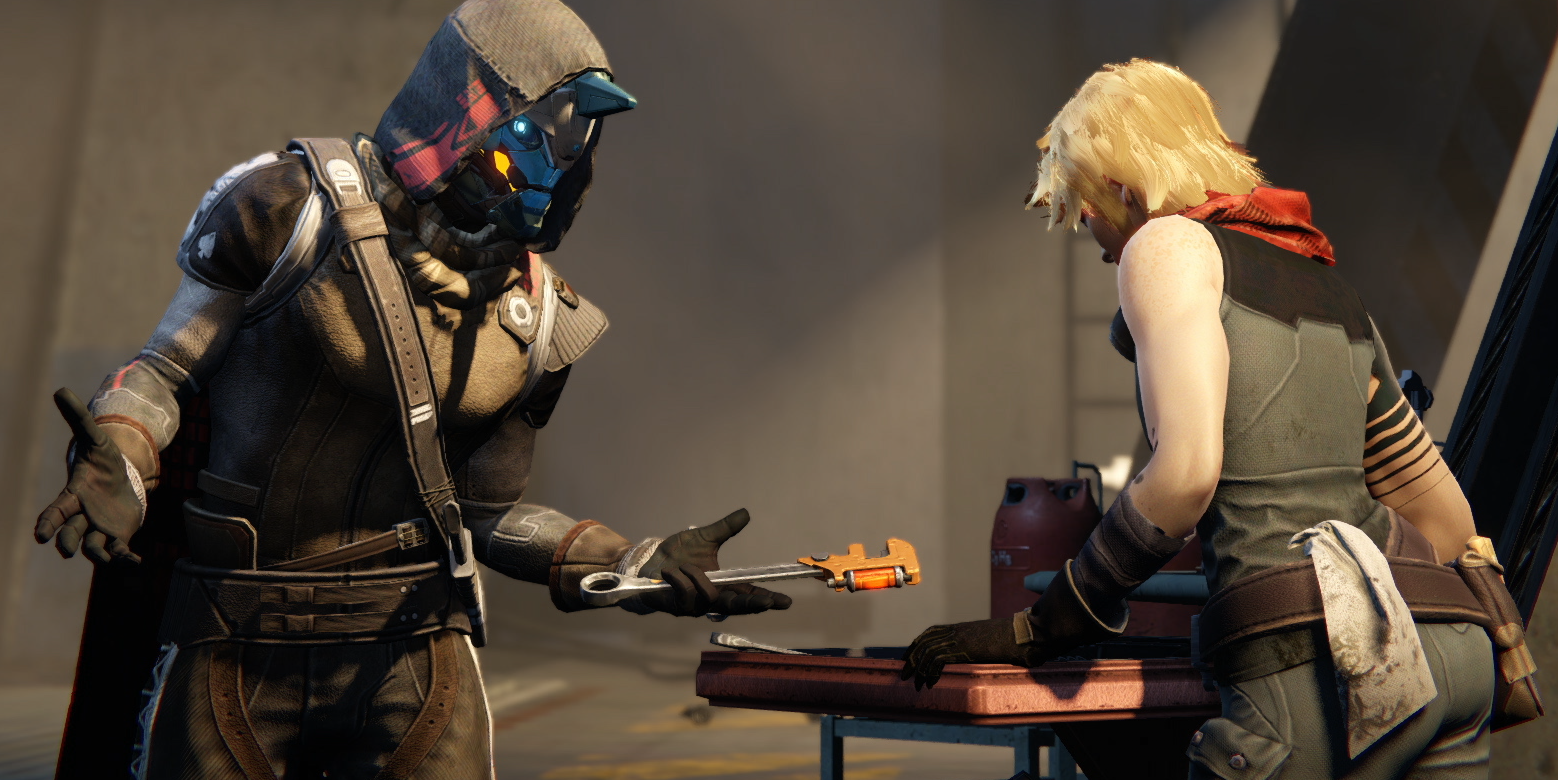 What Changed From Bungie S Original Draft Of Destiny Inverse