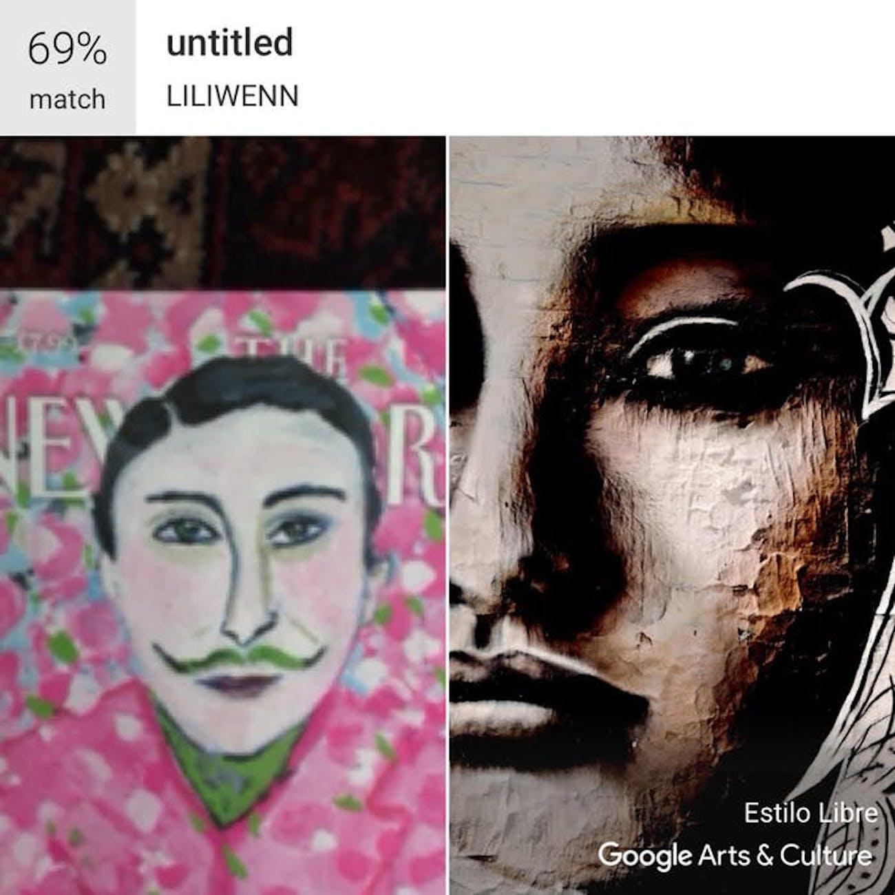 Google Arts and Culture face match app