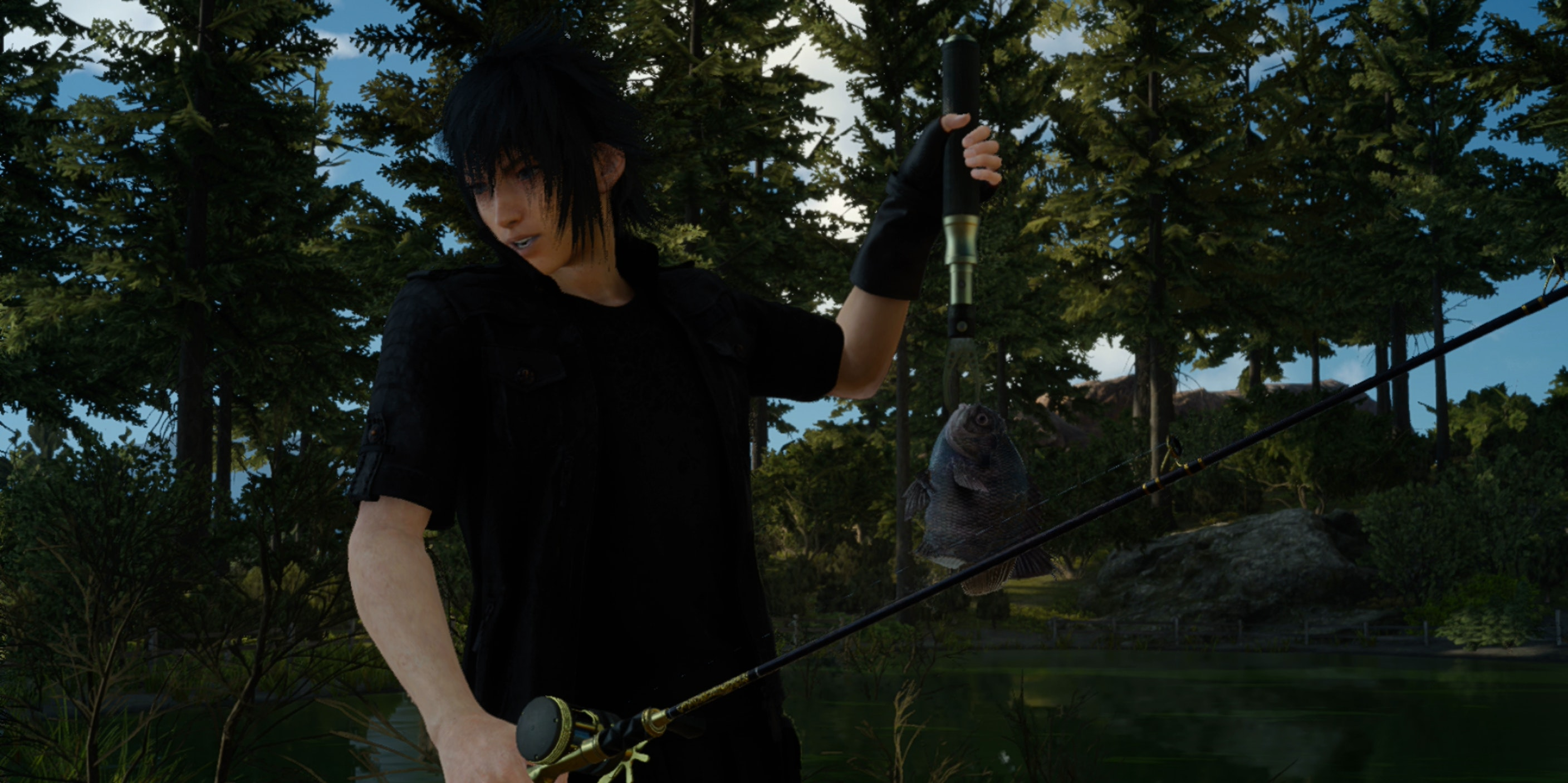 How to get the most out of fishing in final fantasy xv for Final fantasy 15 fishing