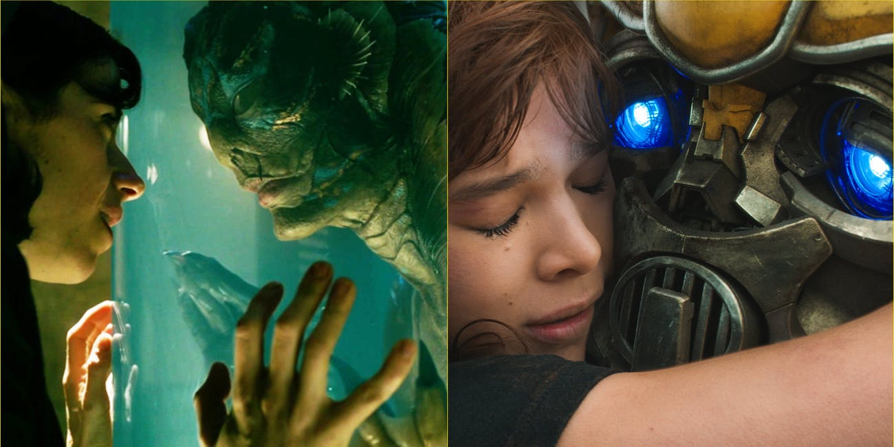 Shape of Water and Bumblebee