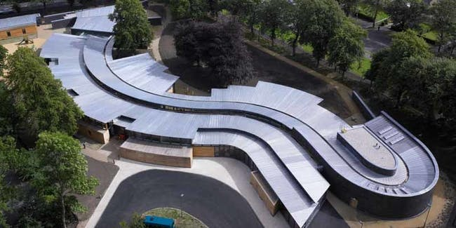 Glasgow School visually hearing impaired children accessible design
