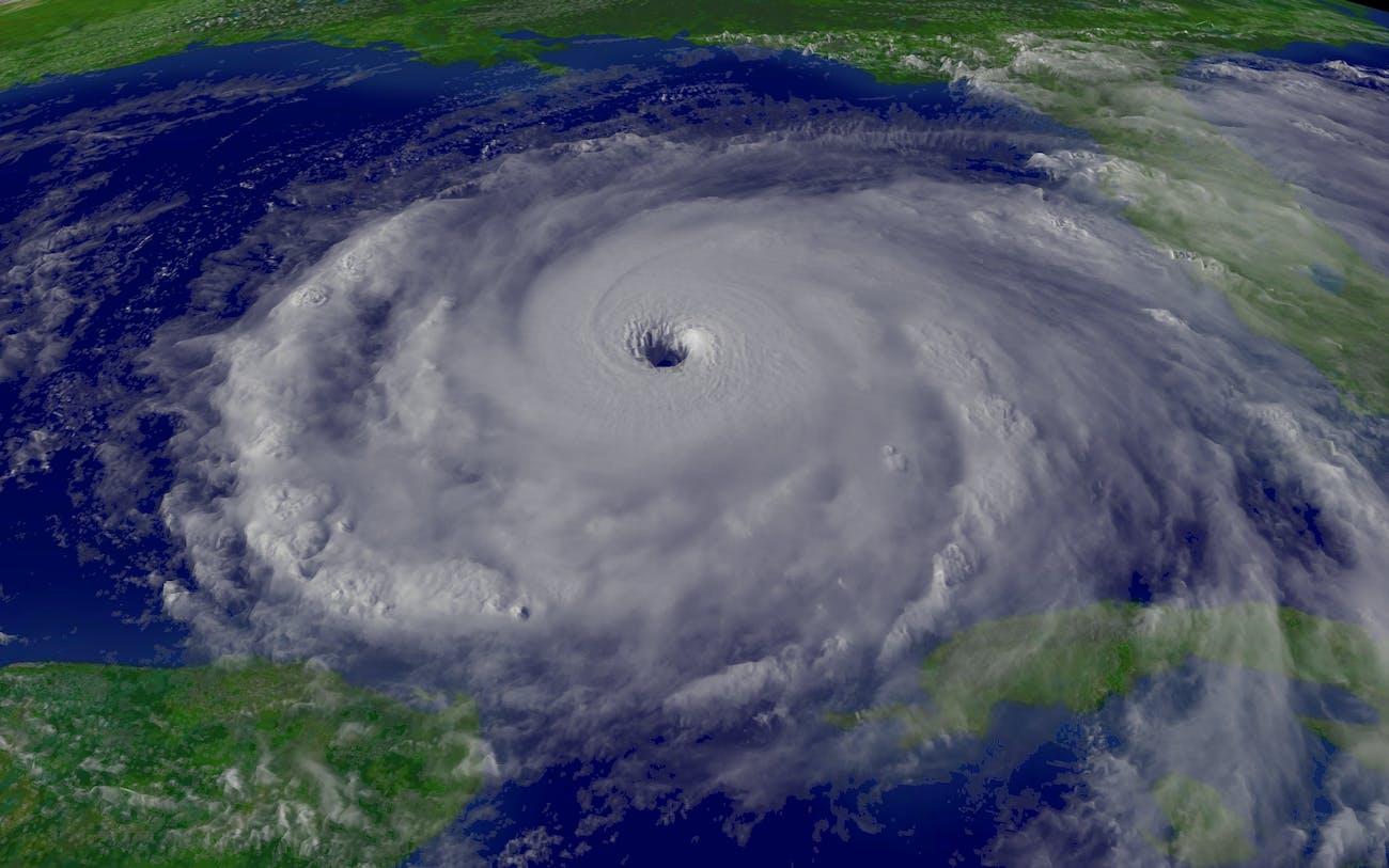 Hurricane Rita Peak