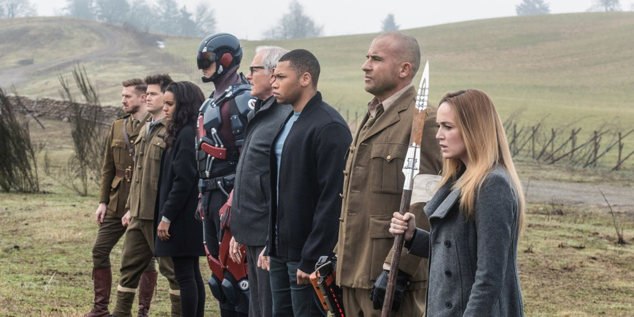 Legends of Tomorrow Season 2 Netflix