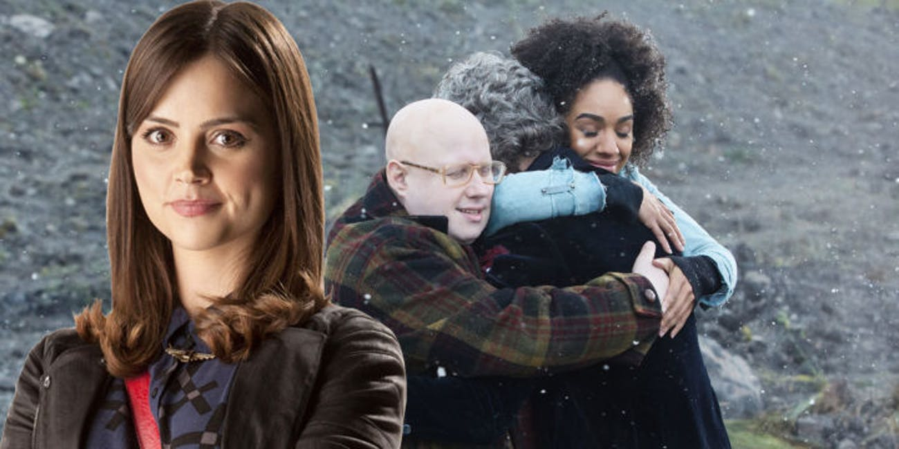 """Clara's surprise appearance in the 'Doctor Who' Christmas Special """"Twice Upon a Time"""" was almost very different."""