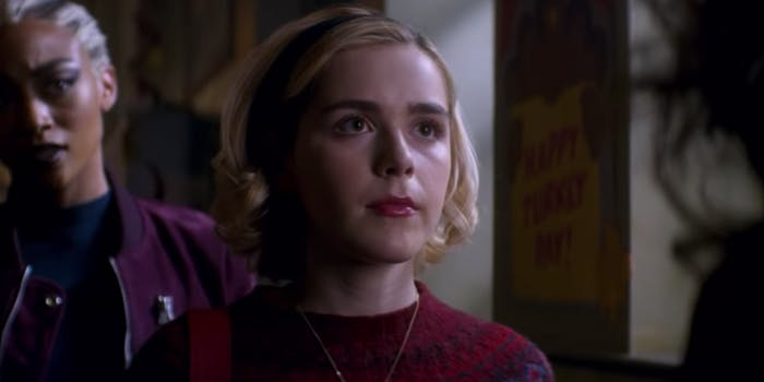 Sabrina Spellman in 'Chilling Adventures of Sabrina'