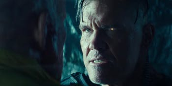 Josh Brolin as Cable in 'Deadpool 2'.