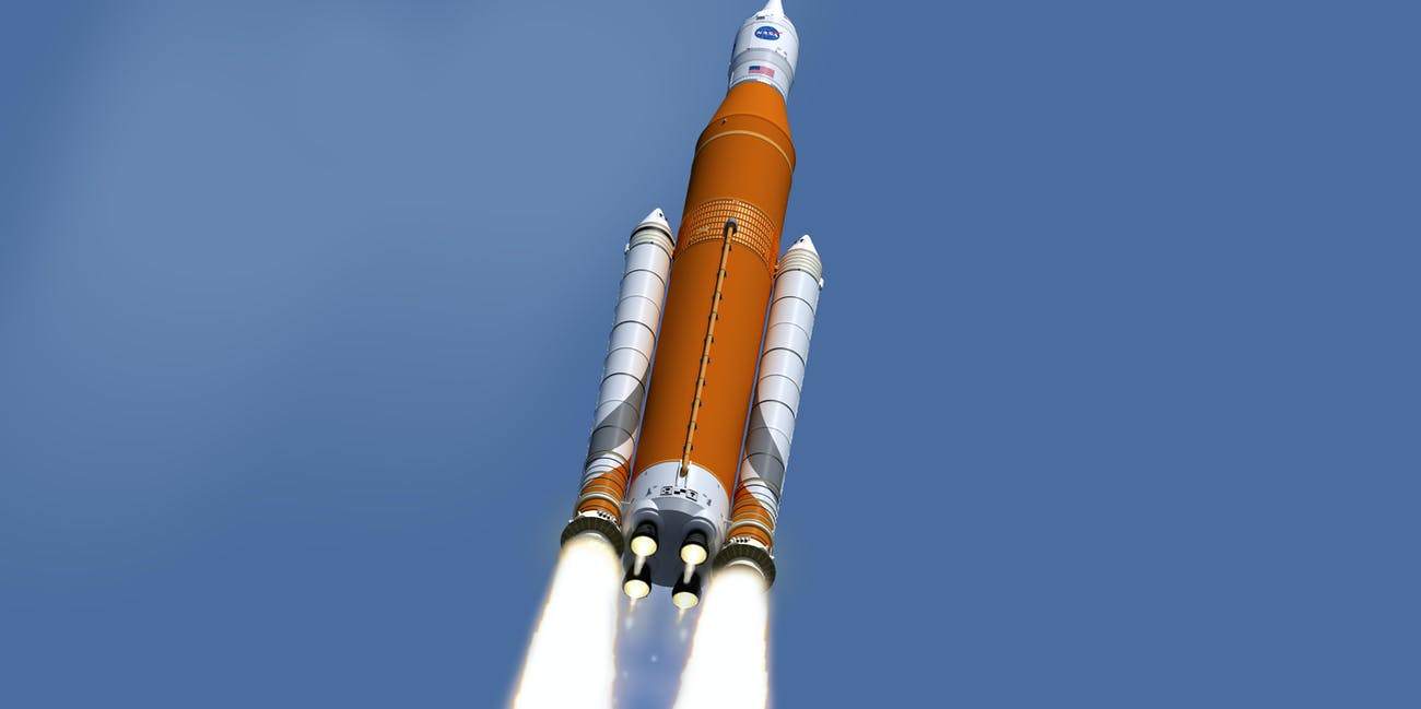 The Space Launch System (SLS) is NASA's newest heavy-lift rocket.