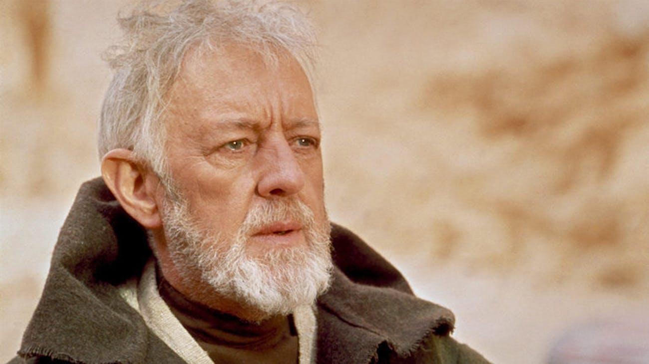 Alec Guinness as Obi-Wan Kenobi