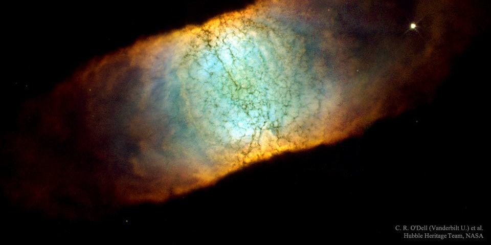 Watch the Goodbye Party for a Dying Nebula in this Hubble Photo