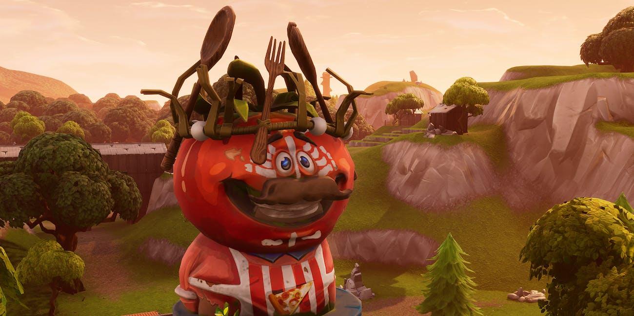 'Fortnite' King Tomato