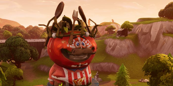 'Fortnite' King Tomato