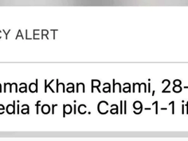 New Yorkers were alerted to these details of the Chelsea suspect.