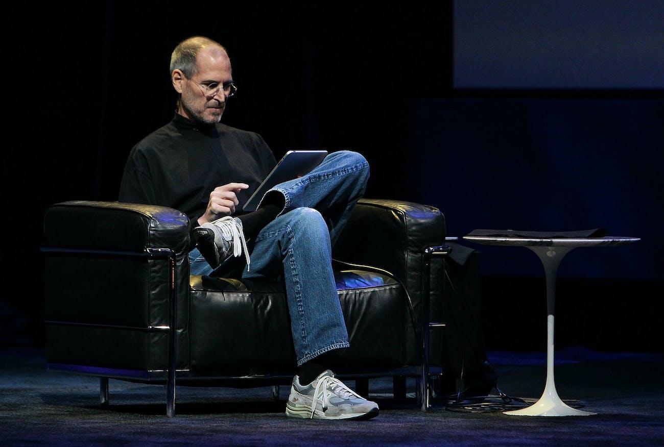 Steve Jobs uniform