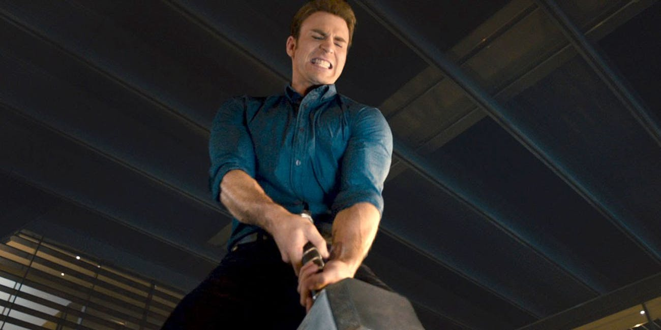 So is Captain America worthy of lifting Mjolnir? Maybe we'll find out in 'Avengers 4'.