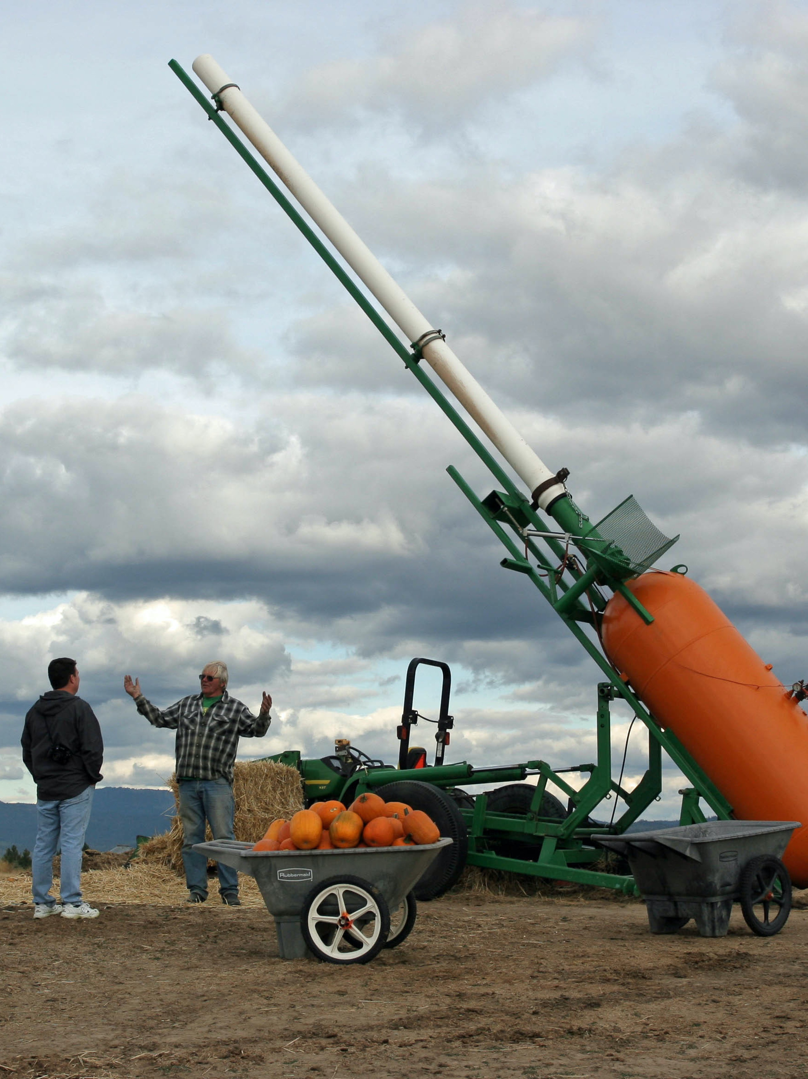 Punkin Chunkin' in Washington State