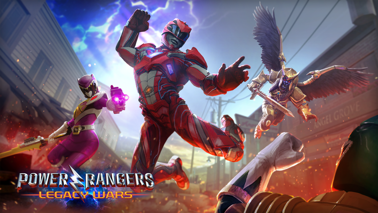 Poster for 'Power Rangers: Legacy Wars'