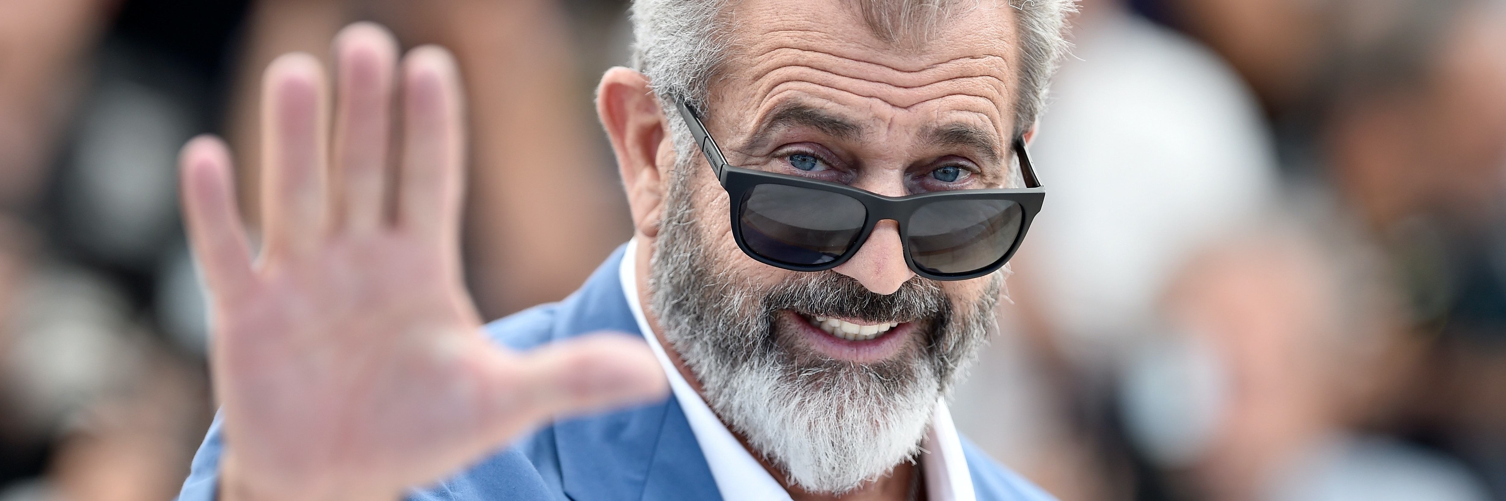 CANNES, FRANCE - MAY 21: Mel Gibson attends the 'Blood Father' photocall during the 69th annual Cannes Film Festival at Palais des Festivals on May 21, 2016 in Cannes, France.  (Photo by Pascal Le Segretain/Getty Images)